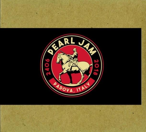 Pearl Jam copertina cover bootleg concerto 24 giugno 2018 Stadio Euganeo, Padova