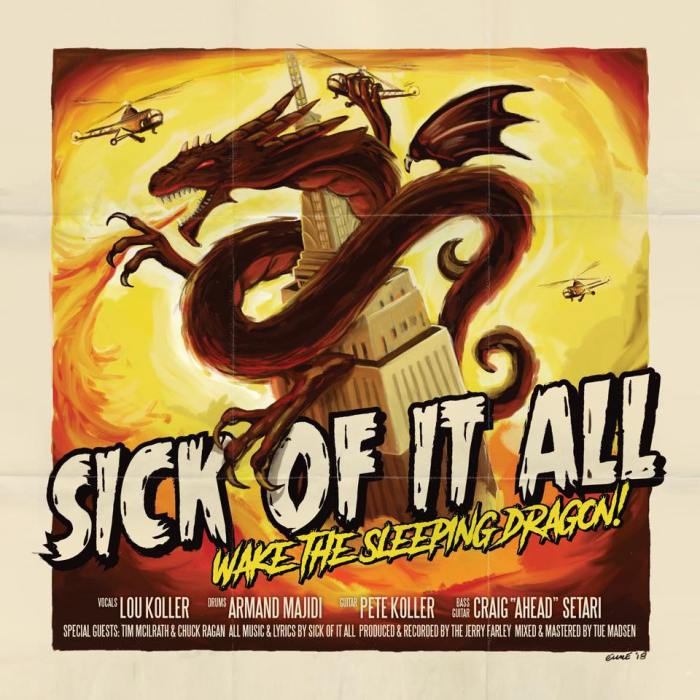 "Sick Of It All, esce il 2 novembre il nuovo album ""Wake The Sleeping Dragon!"", tre concerti in Italia a Milano, Roma e Bologna"
