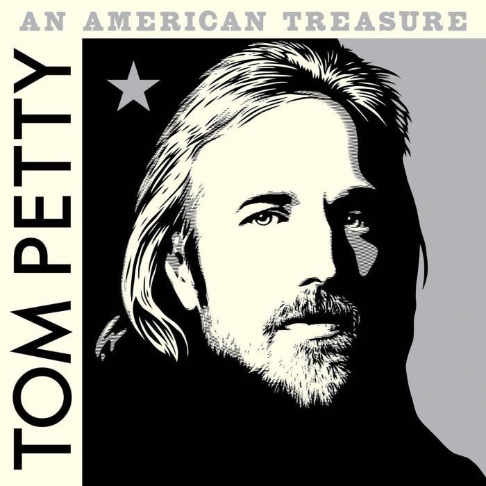 """tom petty and the heartbreakers cover copertina album """"an american treasure"""" foto"""