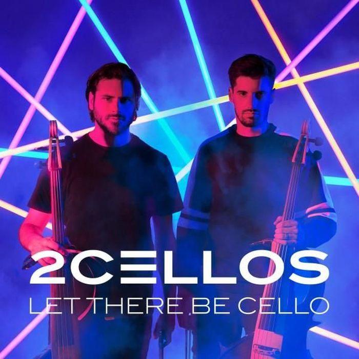 """Cover copertina del nuovo album """"Let There Be Cello"""" dei 2Cellos in uscita il 19 ottobre"""