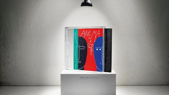 """""""Anema e Core"""" copertina vinile Francesco De Gregori disegnato da Domenico Paladino"""