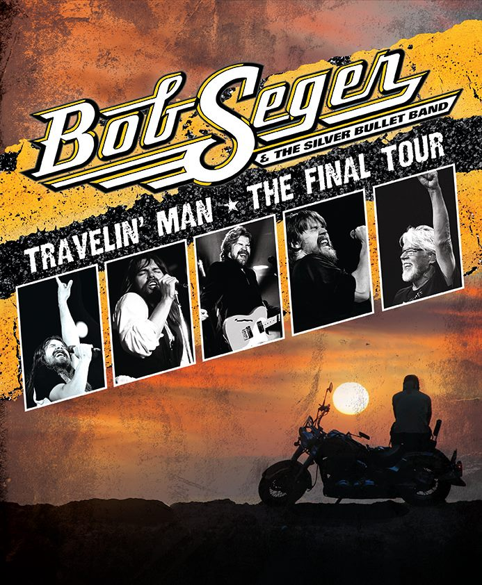 """""""Travelin' Man - The Final Tour"""" di Bob Seger inizia il 21 novembre e si concluderà il 2 maggio 2019 in Texas, l'artista americano poi si ritirerà"""
