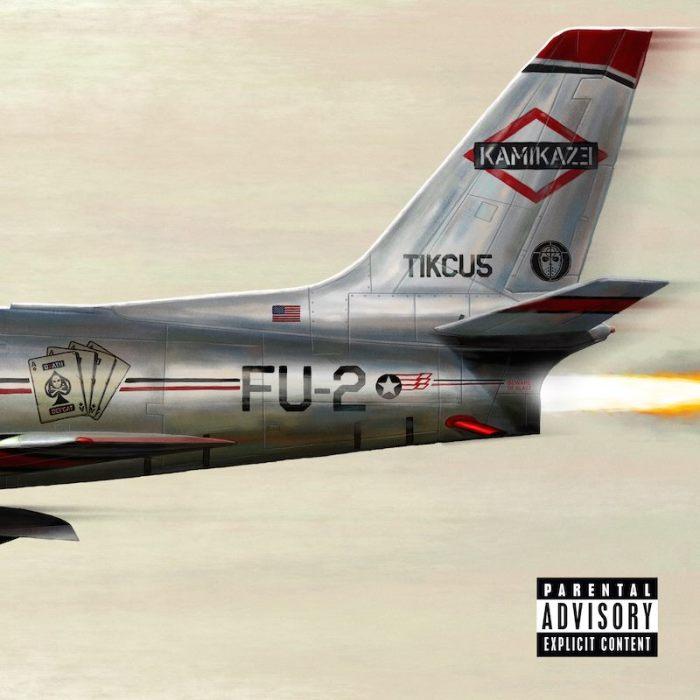 "Eminem cover copertina ""Kamikaze"" album"