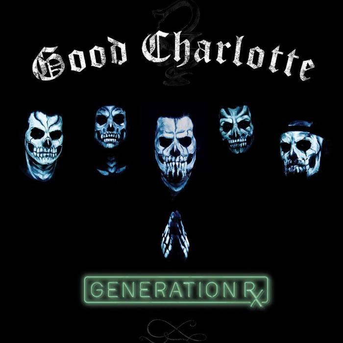 """Good Charlotte cover copertina nuovo album """"Generation Rx"""""""