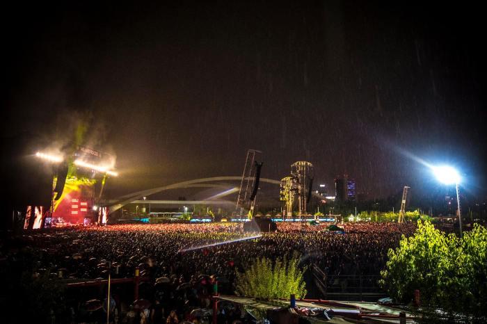 Oltre 60.000 persone presenti giovedì 6 settembre al concerto degli Imagine Dragons all'Area Experience per il Milano Rocks