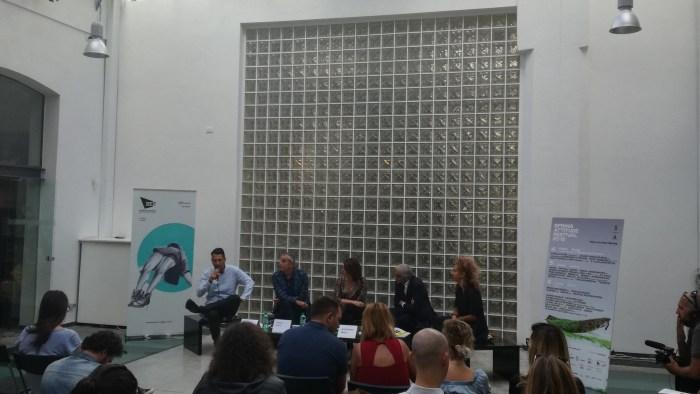 Conferenza stampa Spring Attitude 2018 presso Opificio Roma