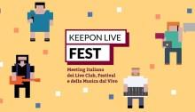 KeepOn Live Fest 2018 giovedì e venerdì 13 e 14 settembre 2018 al Lanificio 159 di Roma