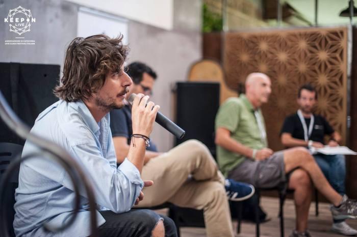 Daniele Citriniti al KeepOn Live Fest 2018
