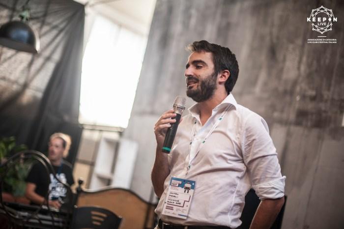Matteo Fedeli SIAE al KeepOn Live Fest 2018