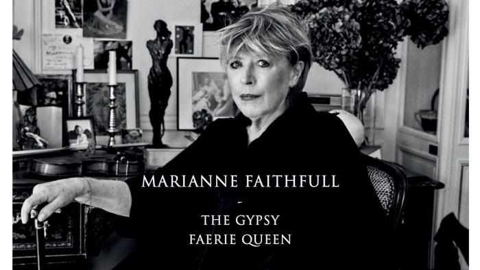 """Marianne Faithfull è tornata con il nuovo singolo """"The Gypsy Faerie Queen"""" insieme a Nick Cave"""