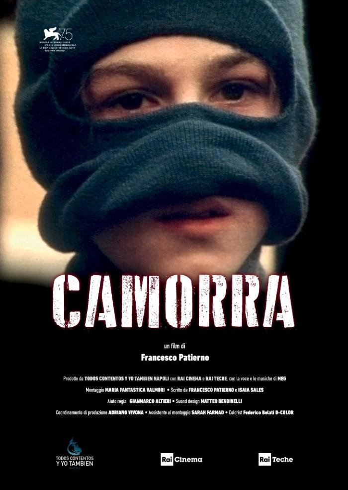 "MEG locandina di ""Camorra"", film di Francesco Patierno"