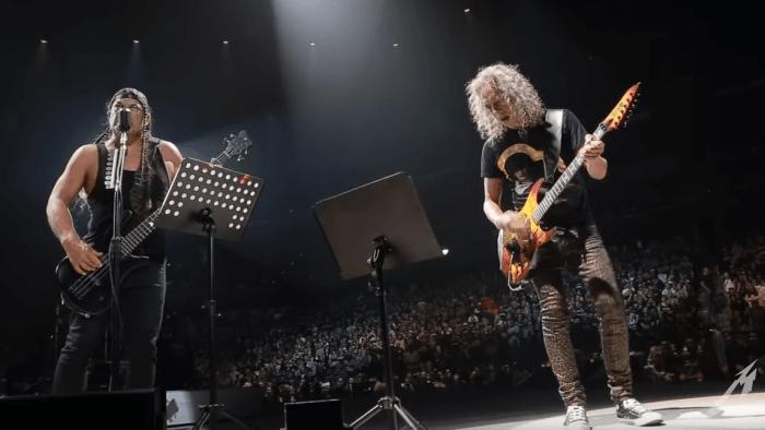 """Metallica coverizzano """"Stupid Girl"""" dei Garbage a Madison nel Wisconsin"""