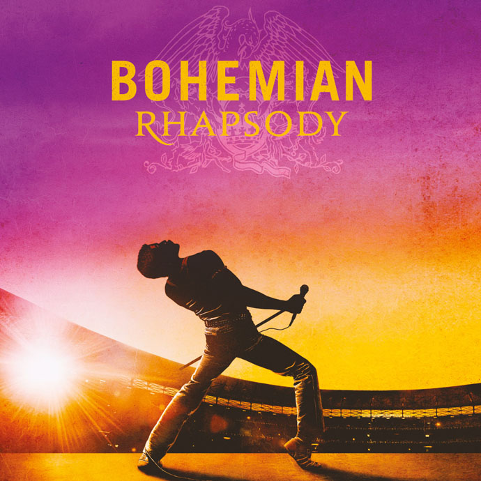 """Queen locandina film """"Bohemian Rhapsody"""" in uscita il 19 ottobre"""