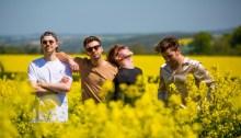 """The Lafontaines in concerto il 10 ottobre 2018 al Circolo ohibò di Milano per presentare il secondo album """"Common Problem"""""""