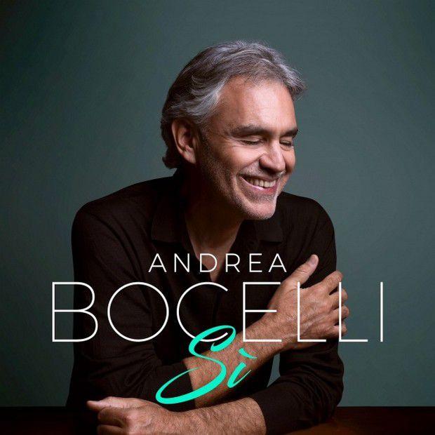 """Cover copertina Andrea Bocelli """"Sì"""" nuovo album in uscita il 26 ottobre"""