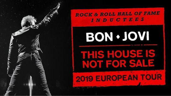 "Bon Jovi arriva in Europa con il ""This House Is Not For Sale 2019 European Tour"" ma non ci sono al momento date in Italia"