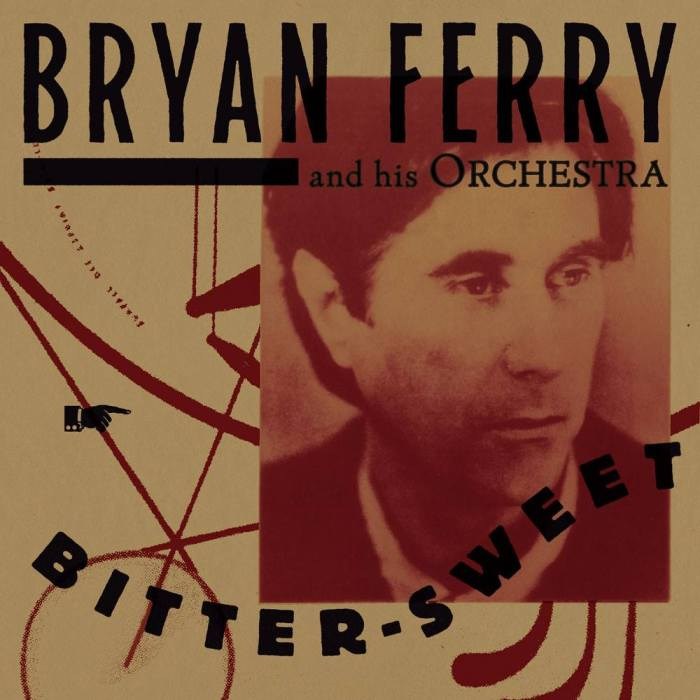 "Cover copertina album ""Bitter-Sweet"" di Bryan Ferry and his Orchestra"