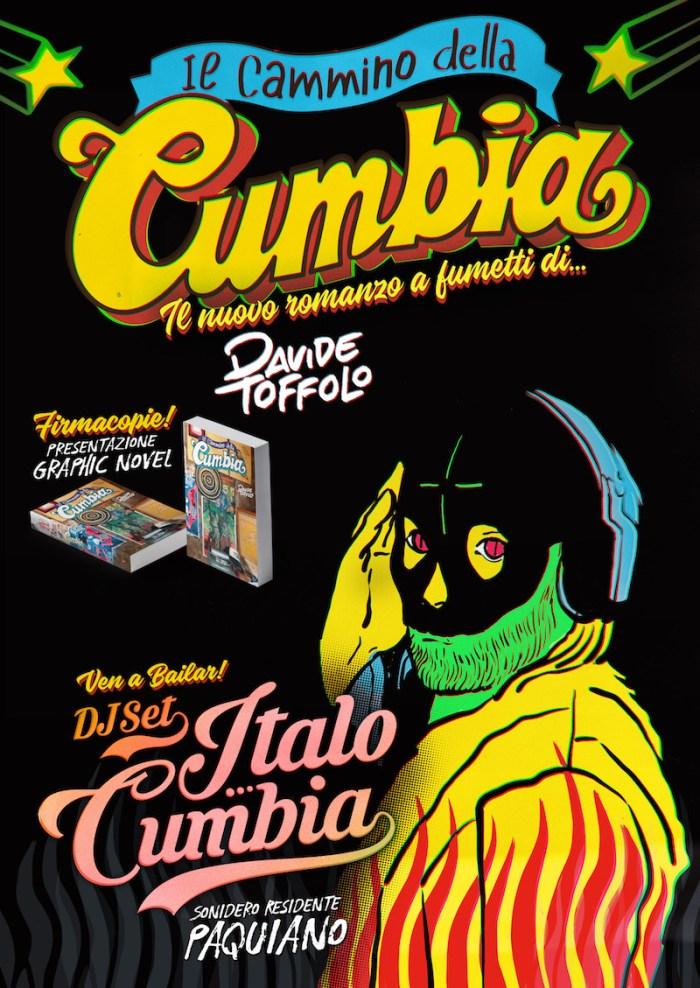 """Davide Toffolo presenta nei club italiani la graphic novel """"Il Cammino Della Cumbia"""""""