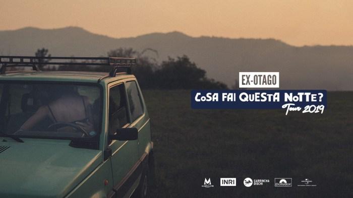 """Gli Ex-Otago tornano nei club di tutta Italia nel 2019 con """"Cosa Fai Questa Notte? Tour 2019"""""""