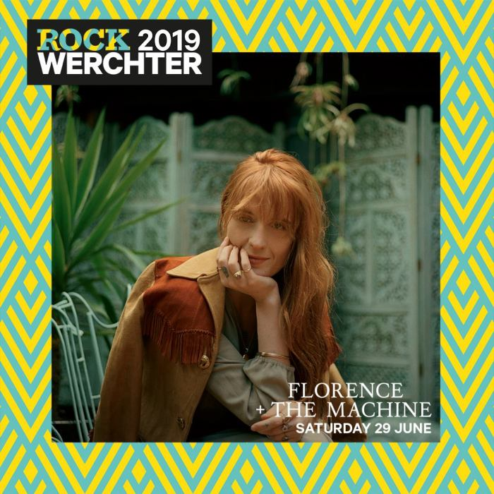Florence And The Machine si aggiungono alla lineup del Rock Werchter 2019