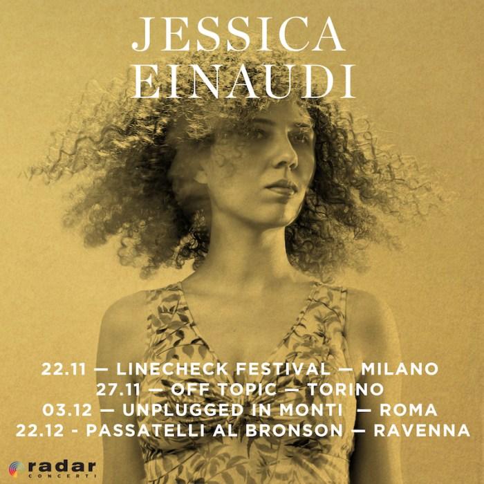 """Jessica Einaudi torna in Italia a Milano, Torino, Roma e Ravenna per presentare l'album """"Black and Gold"""""""