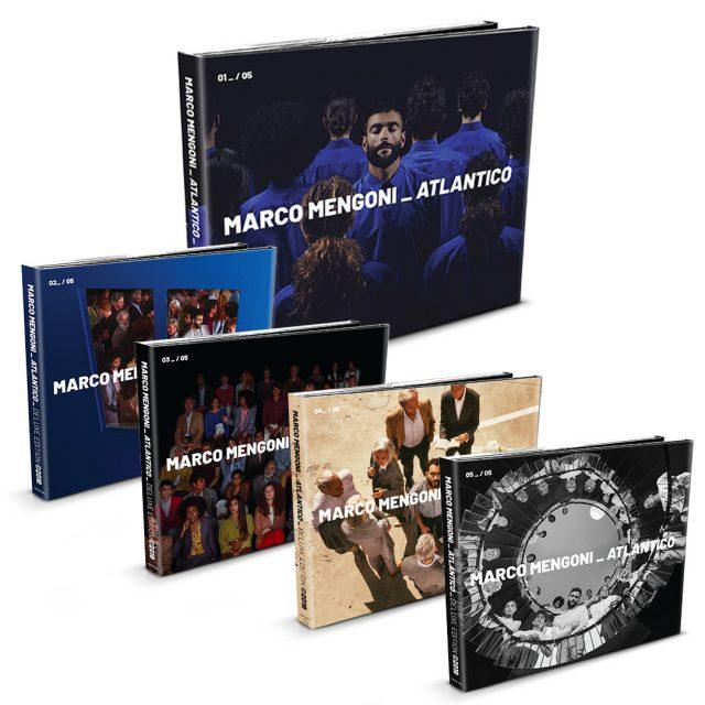 """Marco Mengoni, esce il 30 novembre il nuovo album """"Atlantico"""" copertina cover"""