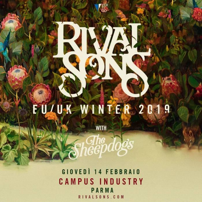 Rival Sons in concerto il 14 febbraio al Campus Industry di Parma