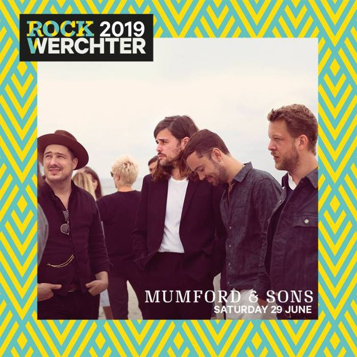 """I Mumford And Sons presenteranno il nuovo album """"Delta"""" al Rock Werchter sabato 29 giugno 2019"""