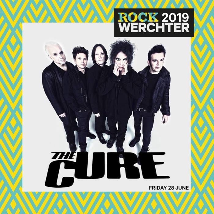 The Cure di Robert Smith si esibiranno al Rock Werchter venerdì 28 giugno 2019