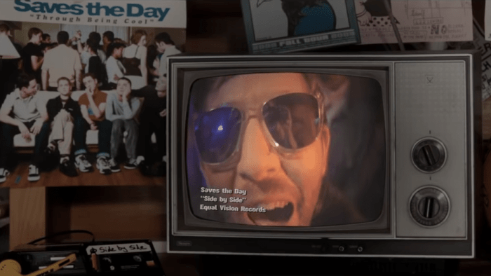 "La band pop-punk Saves The Day ha pubblicato il video del nuovo singolo ""Side By Side"""