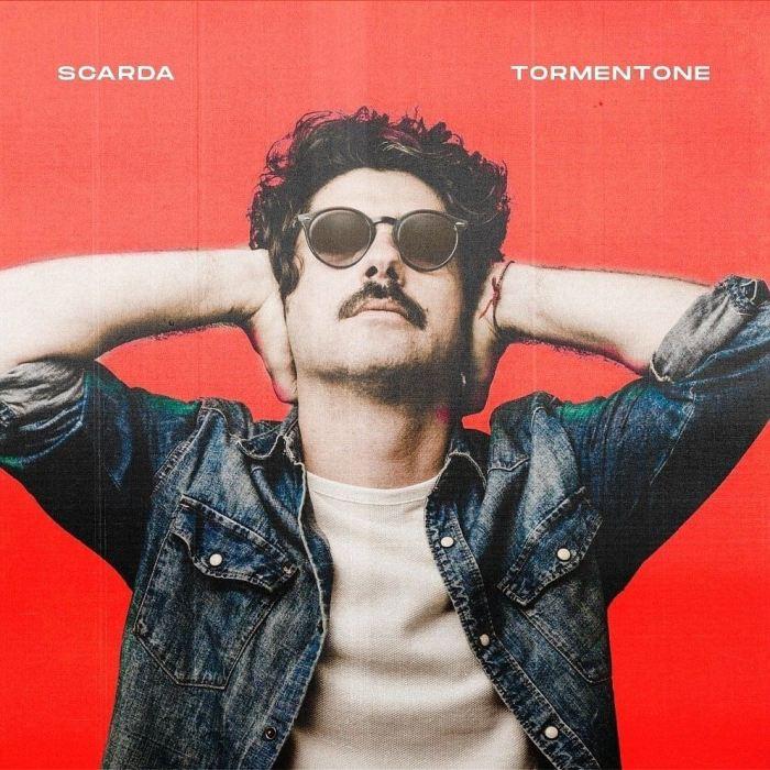 "Cover copertina album ""Tormentone"" Scarda"