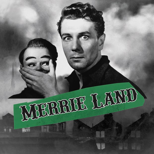 "Cover copertina nuovo album in uscita il 16 novembre ""Merrie Land"" dei The Good The Bad And The Queen"