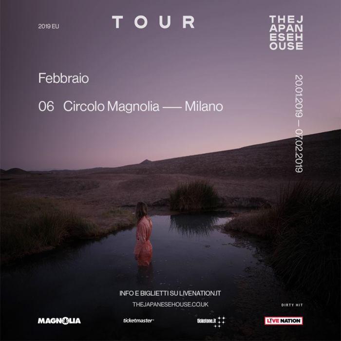 The Japanese House aka Amber Bain in concerto il 7 febbraio al Circolo Magnolia di Milano