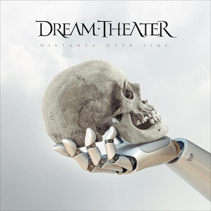 "Dream Theater cover copertina album ""Distance Over Time"""