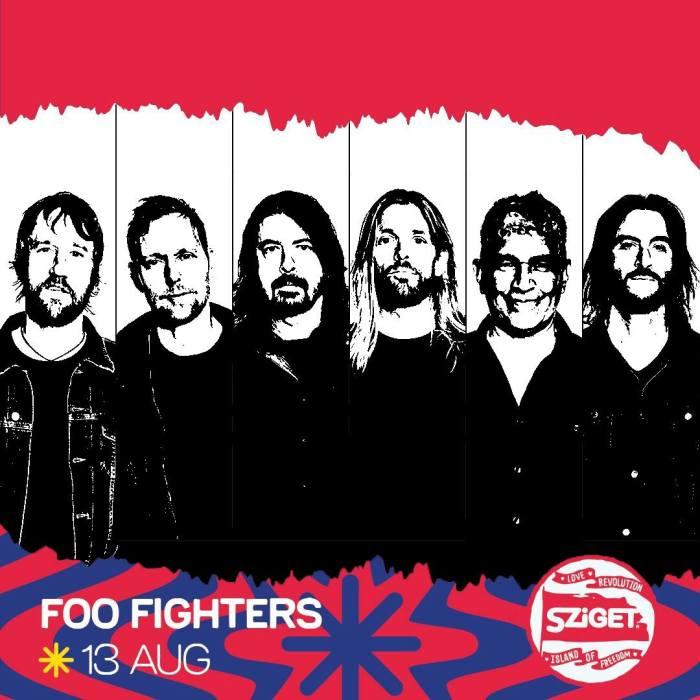 I Foo Fighters saranno healdiner allo Sziget Festival 2019