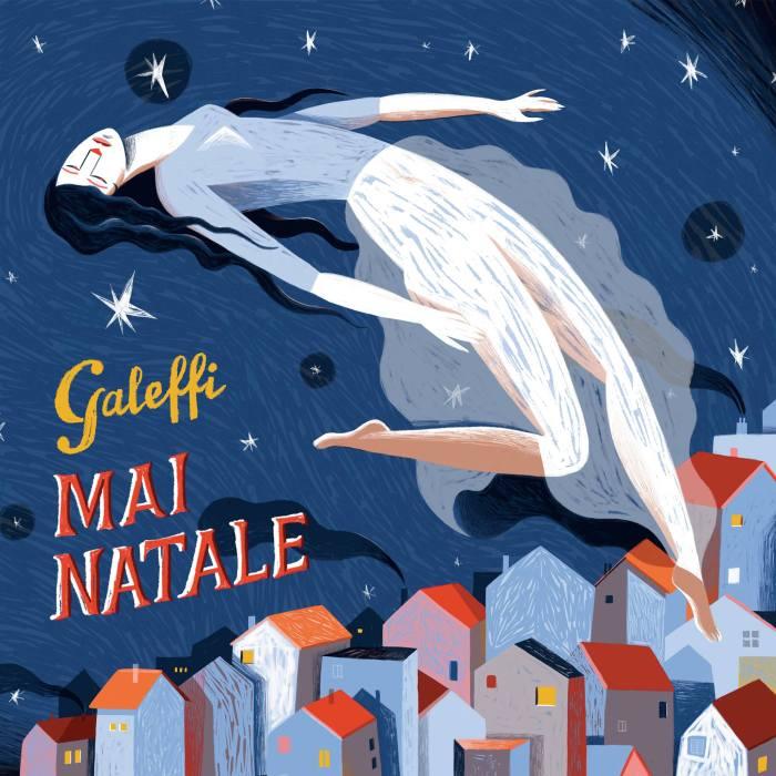 """Cover copertina singolo inedito Galeffi """"Mai Natale"""""""