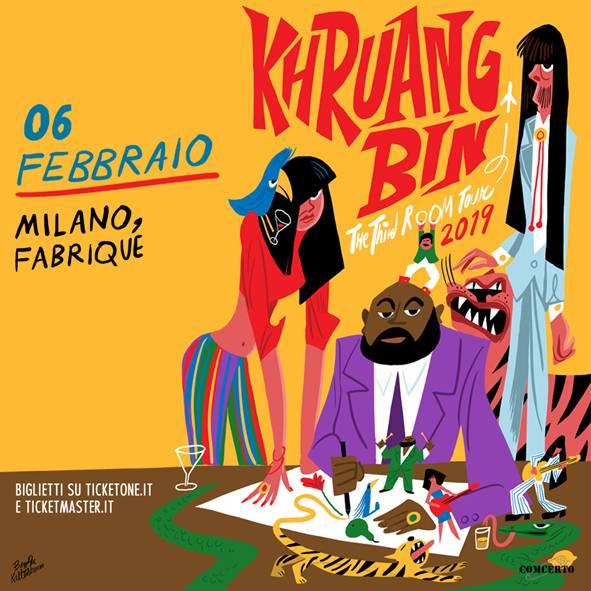 I Khruangbin tornano dal vivo in Italia per un unico concerto il 6 febbraio al Fabrique di Milano