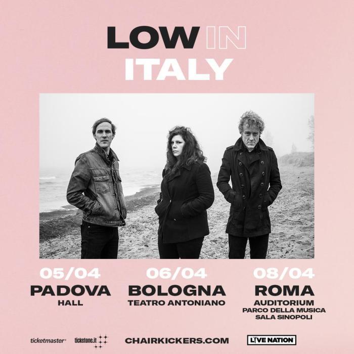 """I Low arrivano a aprile 2019 in concerto a Roma, Padova e Bologna con l'album """"Double Negative"""""""