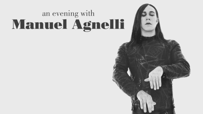 An Evening With Manuel Agnelli in tour nei teatri di tutta Italia