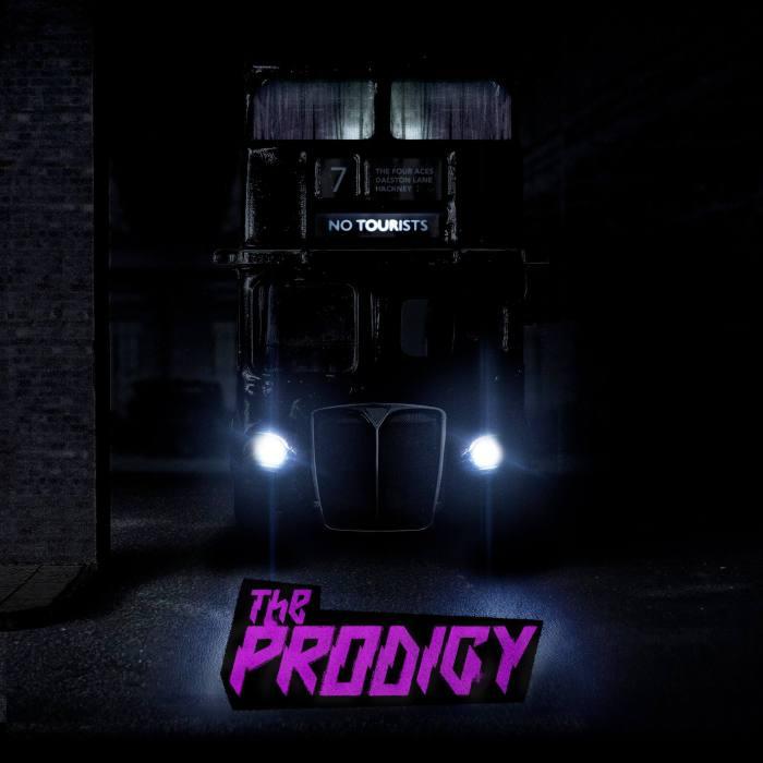 """""""No Tourists"""" album cover copertina The Prodigy"""