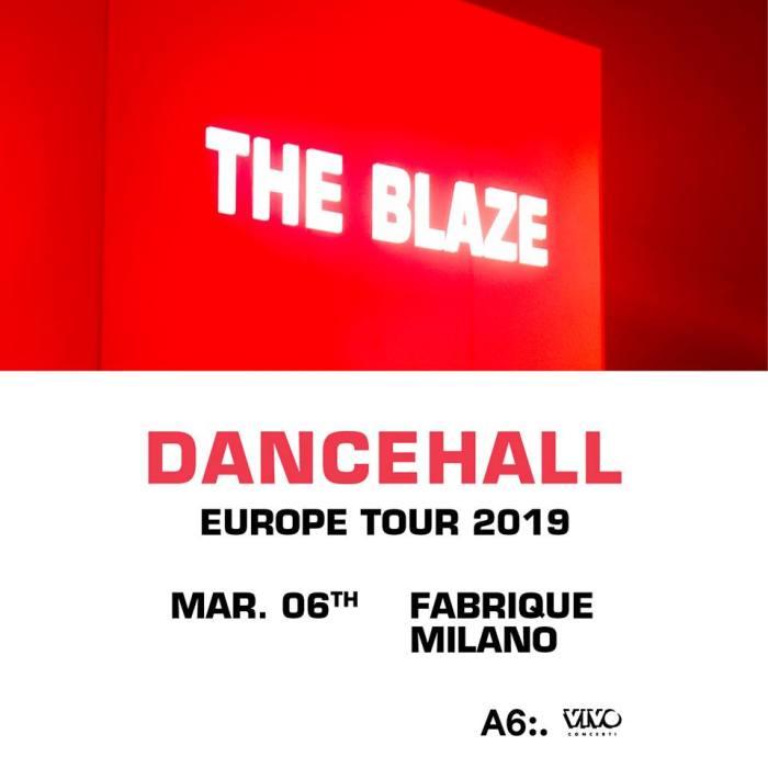 The Blaze in concerto a Milano il 6 marzo 2019