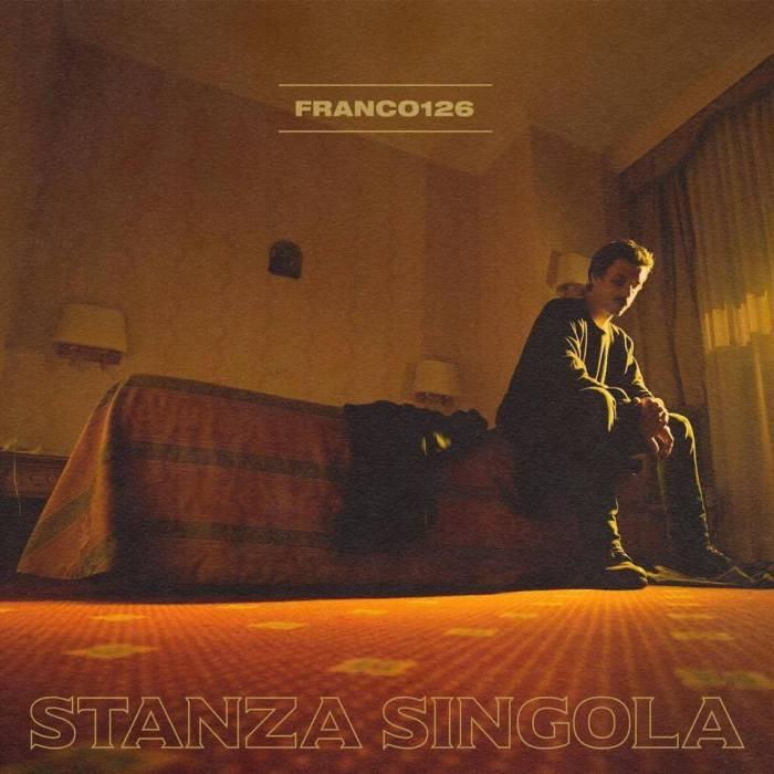 """Cover copertina album """"Stanza Singola"""" Franco126"""