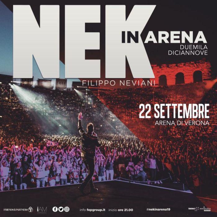 Nek in Arena 22 settembre