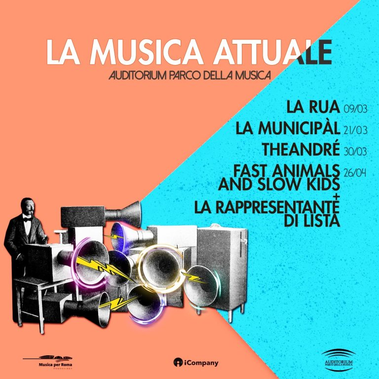 """""""La Musica Attuale"""" all' Auditorium parco della musica: FASK, La Rappresentante di Lista, TheAndré e molti altri"""