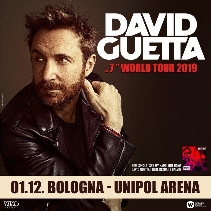 David Guetta, Disciples e Lovra in concerto a Bologna il 1 dicembre 2019