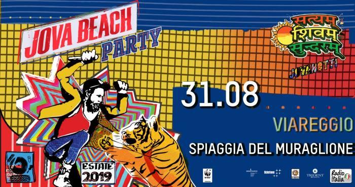 Jova Beach Party anche il 31 agosto alla Spiaggia del Muraglione di Viareggio