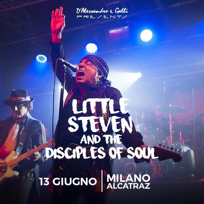 Little Steven in concerto il 13 giugno all'Alcatraz di Milano