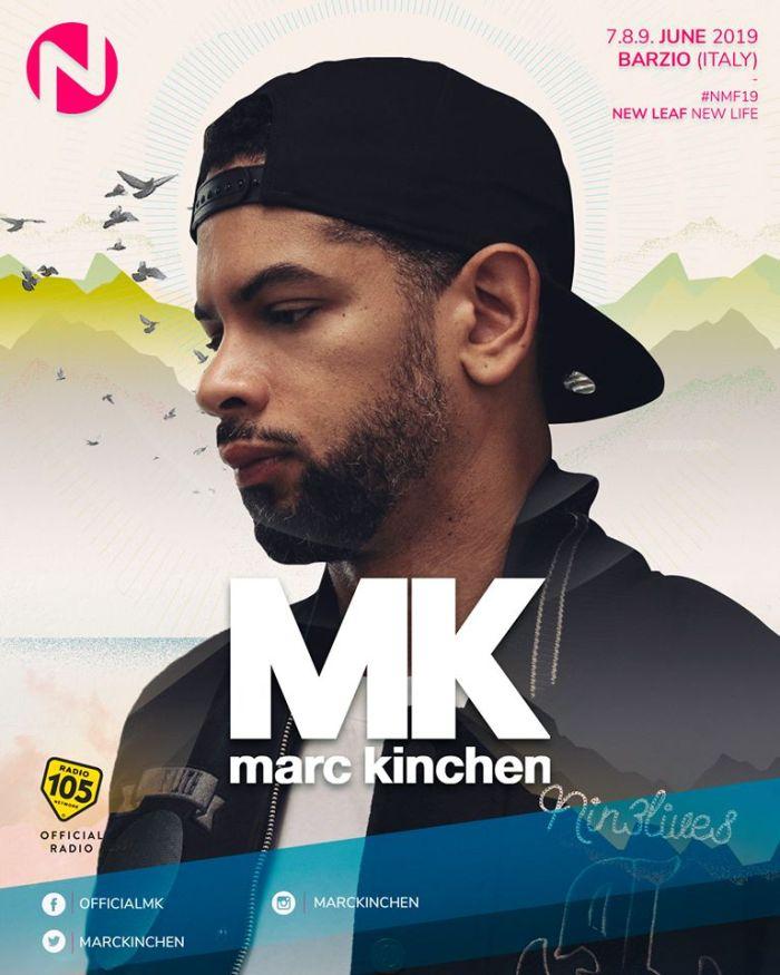 MK dal vivo al Nameless Music Festival 2019