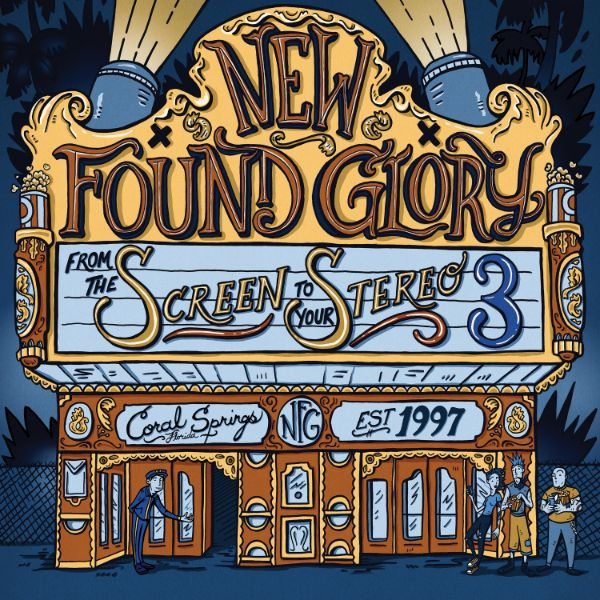 "copertina ""From the screen to your stereo 3"" New Found Glory"