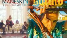 Salmo e i Maneskin dal vivo sabato 6 luglio a Barolo per Collisioni